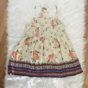 🌺Chloe lined floral dress size Large